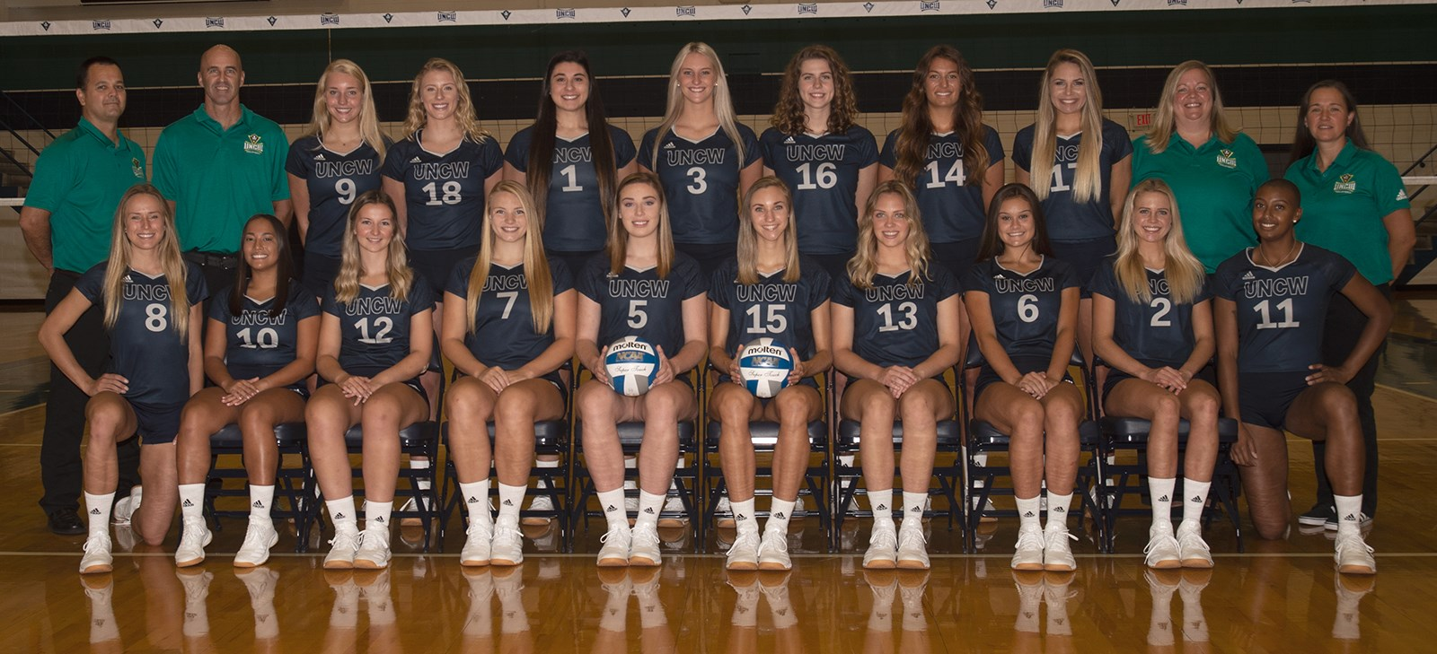2019 Women S Volleyball Roster Unc Wilmington Athletics